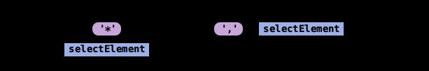 selectElements